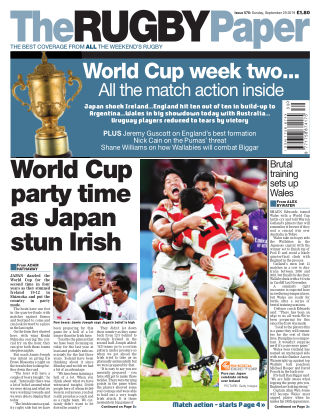 The Rugby Paper 29th September 2019