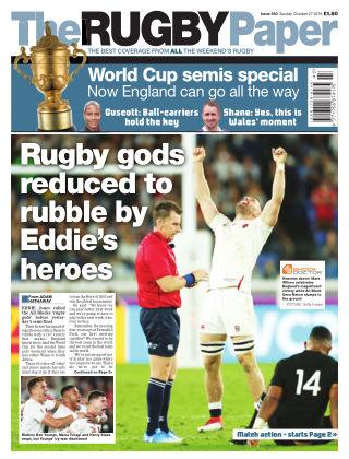 The Rugby Paper 27th October 2019
