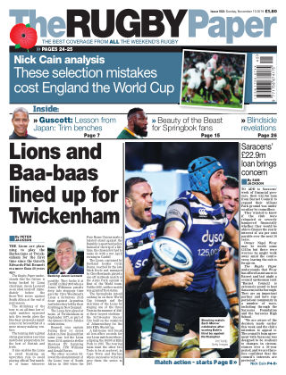 The Rugby Paper 10th November 2019