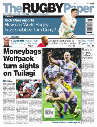 The Rugby Paper 17th November 2019