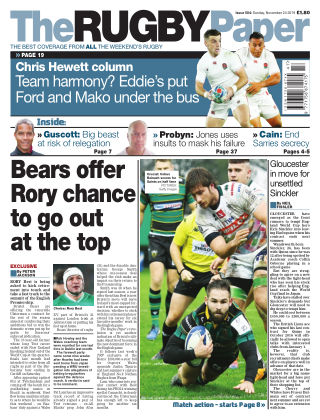 The Rugby Paper 24th November 2019