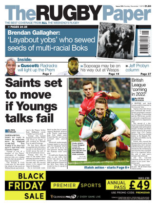 The Rugby Paper 1st December 2019