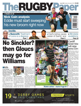 The Rugby Paper 8th December 2019