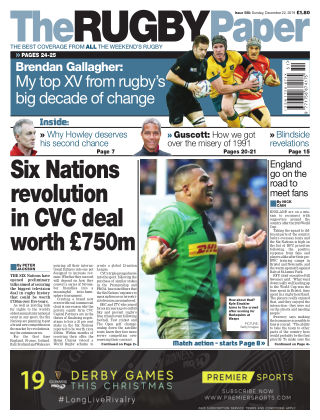 The Rugby Paper 22nd December 2019