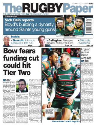 The Rugby Paper 5th January 2020
