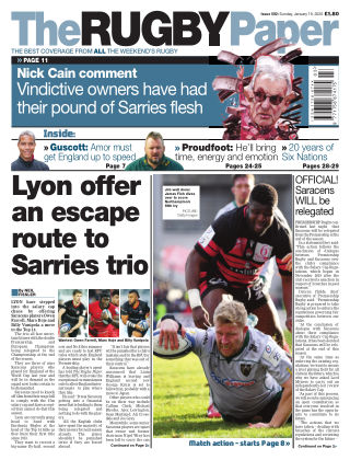 The Rugby Paper 19th January 2020