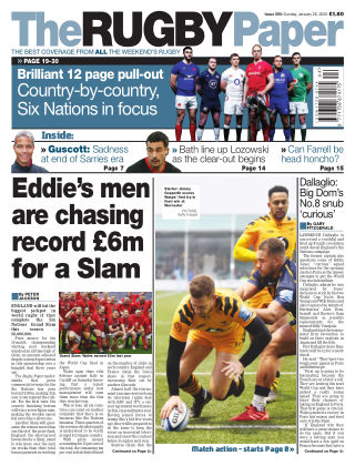The Rugby Paper 26th January 2020