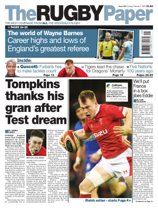 The Rugby Paper 2nd February 2020