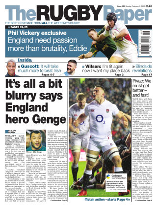 The Rugby Paper 9th February 2020