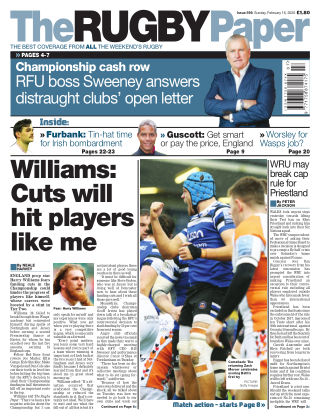 The Rugby Paper 16th February 2020