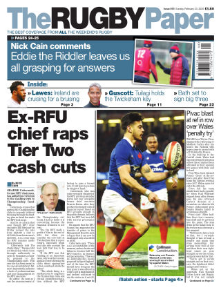The Rugby Paper 23rd February 2020