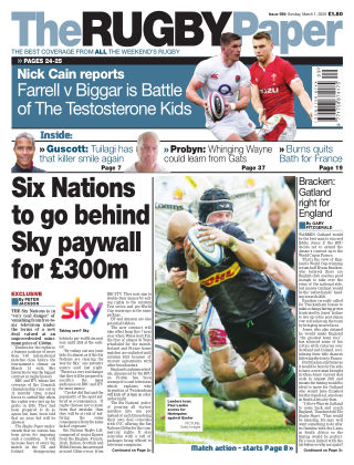 The Rugby Paper 1st March 2020