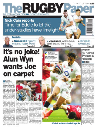 The Rugby Paper 8th March 2020