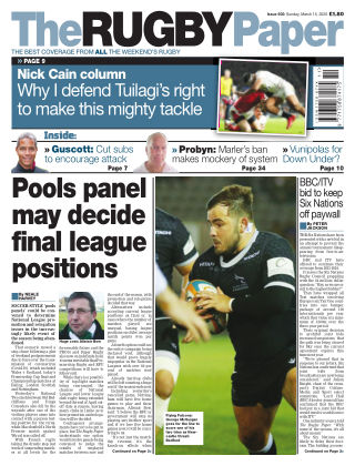 The Rugby Paper 15th March 2020