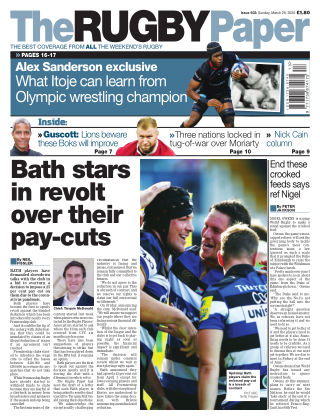 The Rugby Paper 29th March 2020