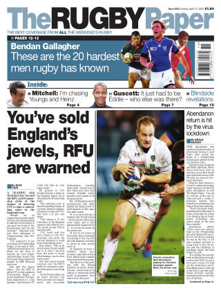 The Rugby Paper 12th April 2020
