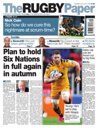 The Rugby Paper 19th April 2020