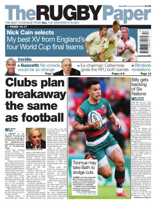 The Rugby Paper 26th April 2020