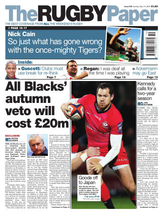 The Rugby Paper 10th May 2020