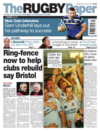 The Rugby Paper 24th May 2020