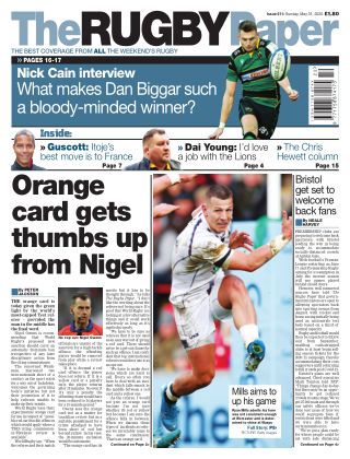 The Rugby Paper 31st May 2020