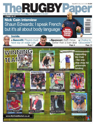 The Rugby Paper 14th June 2020