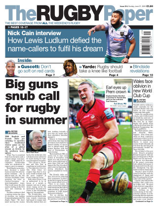The Rugby Paper 21st June 2020