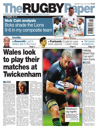 The Rugby Paper 28th June 2020