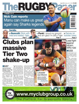 The Rugby Paper 19th July 2020