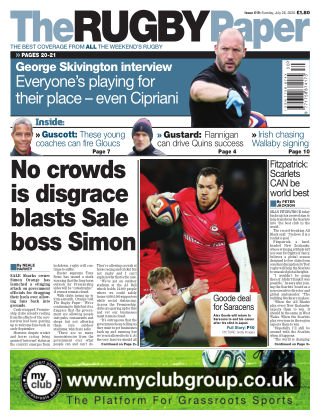 The Rugby Paper 26th July 2020