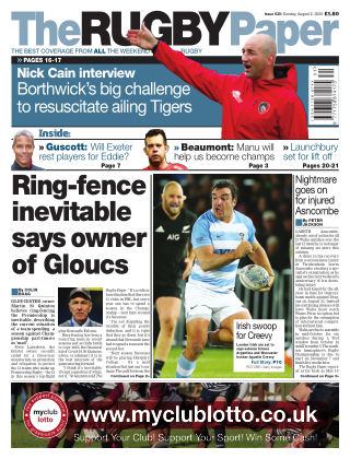 The Rugby Paper 2nd August 2020