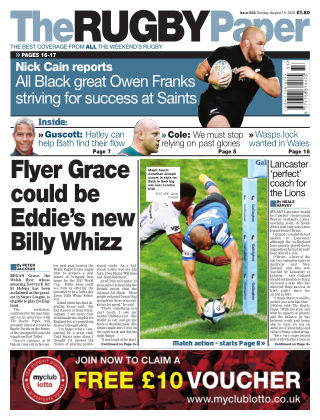 The Rugby Paper 16th August 2020