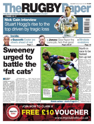 The Rugby Paper 30th August 2020
