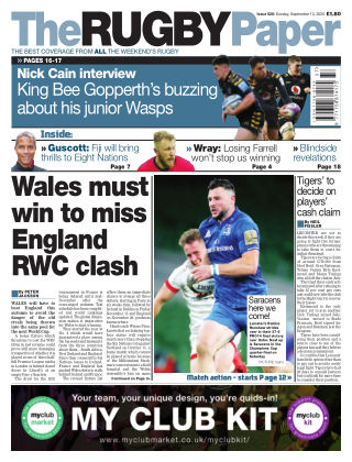 The Rugby Paper 13th September 2020