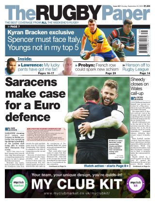 The Rugby Paper 20th September 2020