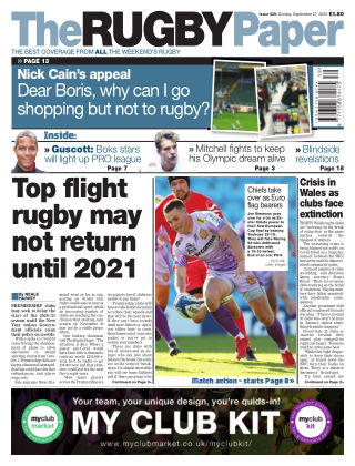 The Rugby Paper 27th September 2020