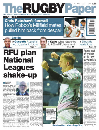 The Rugby Paper 4th October 2020