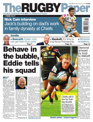 The Rugby Paper 11th October 2020