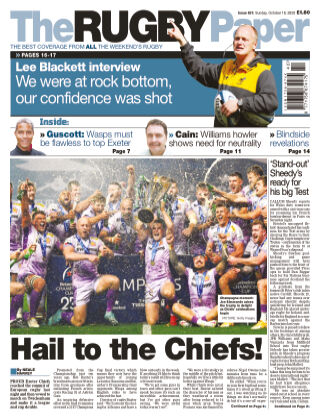 The Rugby Paper 18th October 2020