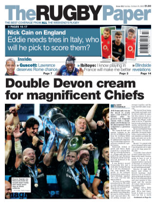 The Rugby Paper 25th October 2020