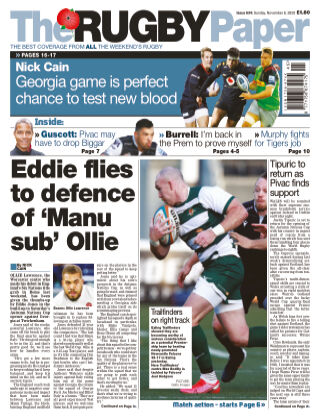 The Rugby Paper 8th November 2020
