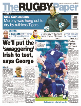 The Rugby Paper 15th November 2020