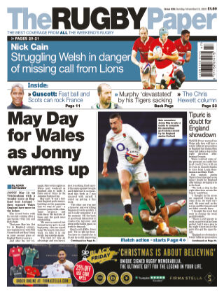 The Rugby Paper 22nd November 2020