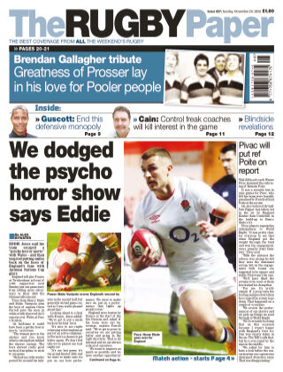 The Rugby Paper 29th November 2020