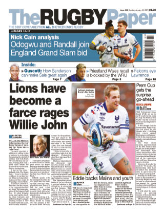 The Rugby Paper 24th January 2021