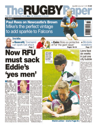 The Rugby Paper 11th April 2021