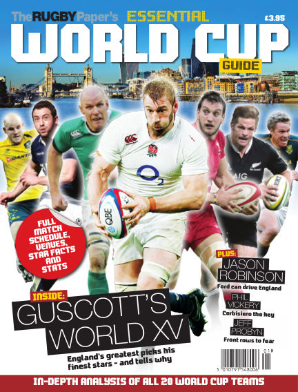 The Rugby Paper's Essential World Cup Guide August 11, 2015 00:00