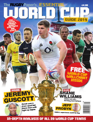 The Rugby Paper's Essential World Cup Guide World Cup 2019