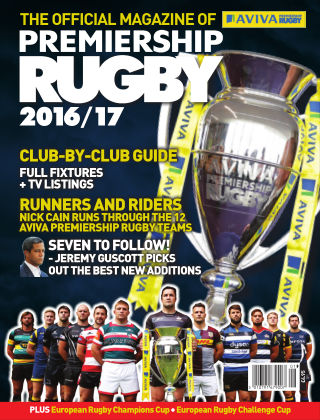 The Official Magazine of Premiership Rugby by Aviva 2016/17