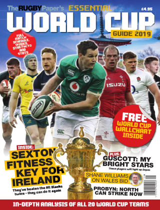 The Rugby Paper's Essential World Cup Guide (IE) World Cup 2019